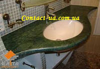 Мраморные столешницы для ванной по ценам производителя