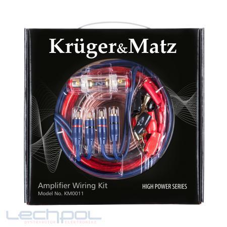 Монтажний комплект для автомобільного підсилювача Kruger&Matz KM0010