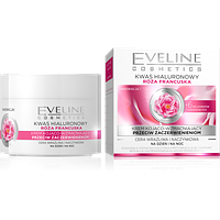 Крем для лица  Eveline cosmetiks kwas hialuronowy Roza Francuska для всех типов кожи 50 мл