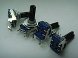 Потенциометр ALPS B20K  (20kb) горизонтальный Soundcraft Dm1132, фото 2