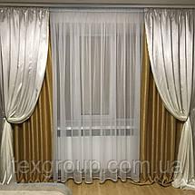 Готовые шторы софт+атлас №250, фото 3