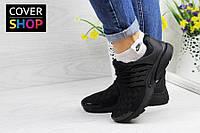 Кроссовки женские Nike Air Presto TP QS, черные, материал - текстиль, подошва - пенка
