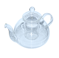 "Чайник стекл с ст сит ""Жемчужина""600мл"