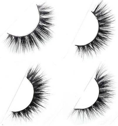 Норковые накладные ресницы Mink 3D Hair H Series, фото 2