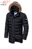 Куртка зимова Braggart Aggressive, чорна. Оригінал. 46-56р