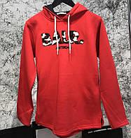 Кофта мужская Hoody Balr Club Red 18211 красная
