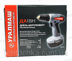 Аккумуляторный шуруповерт Уралмаш ДА 18 Н , фото 3