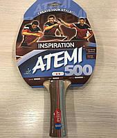 Ракетка для настольного тенниса Atemi 500 тренировочного класса 2*