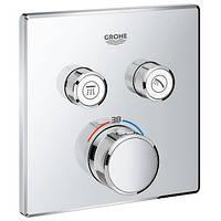 Внешняя панель термостата Grohe Grohtherm SmartControl 29124000
