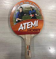 Ракетка для настольного тенниса Atemi Hobby для начинающих игроков и любителей игры