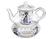 Чайник заварочный на подставке Lefard Собака 400 мл, 924-166
