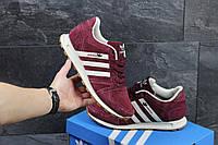 Мужские кроссовки Adidas Neo красные