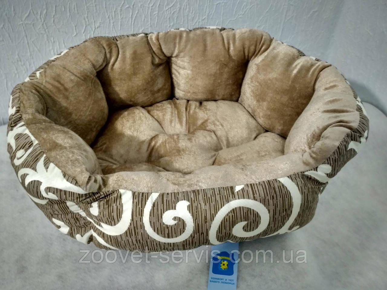 Лежак - диван для собак Теремок Элегант 2 50х40х18 см (0406)