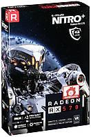 Видеокарта Sapphire Radeon RX 570 NITRO+ 4GB GDDR5 (256 bit), DVI-D, 2xHDMI, 2xDisplayPort, BOX (11266-14-20G)