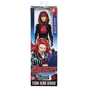 "Фігурка Hasbro Чорна Вдова, Титани, Месники"" 30см - Black Widow, Avengers, Titan Hero"