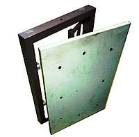Потайной люк невидимка под плитку 300х400 мм (сдвижной)