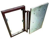 Потайной люк невидимка под плитку 400х300 мм (сдвижной)