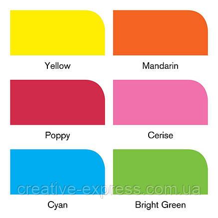 Набір маркерів WINSOR & NEWTON 6 шт яскраві тона /vibrant tones, фото 2