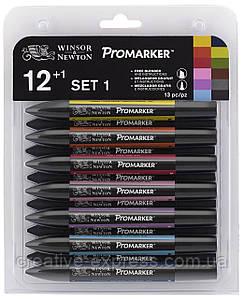 Набір маркерів WINSOR & NEWTON 12+1 шт  /set 1