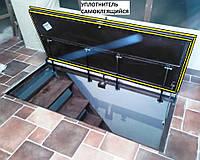 Напольный люк невидимка под плитку 800х2000 мм