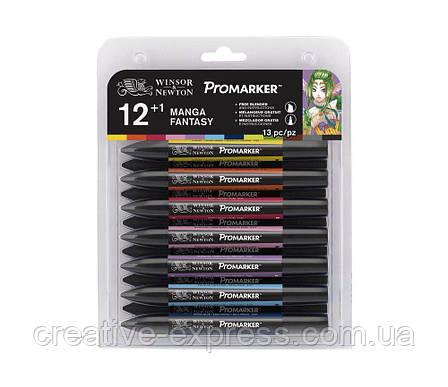 Набір маркерів WINSOR & NEWTON 12+1 шт /manga fantasy, фото 2