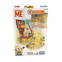 Мега Блокс миньены Пляжный отдых Mega Bloks Despicable Me Beach Fun Figure Pack