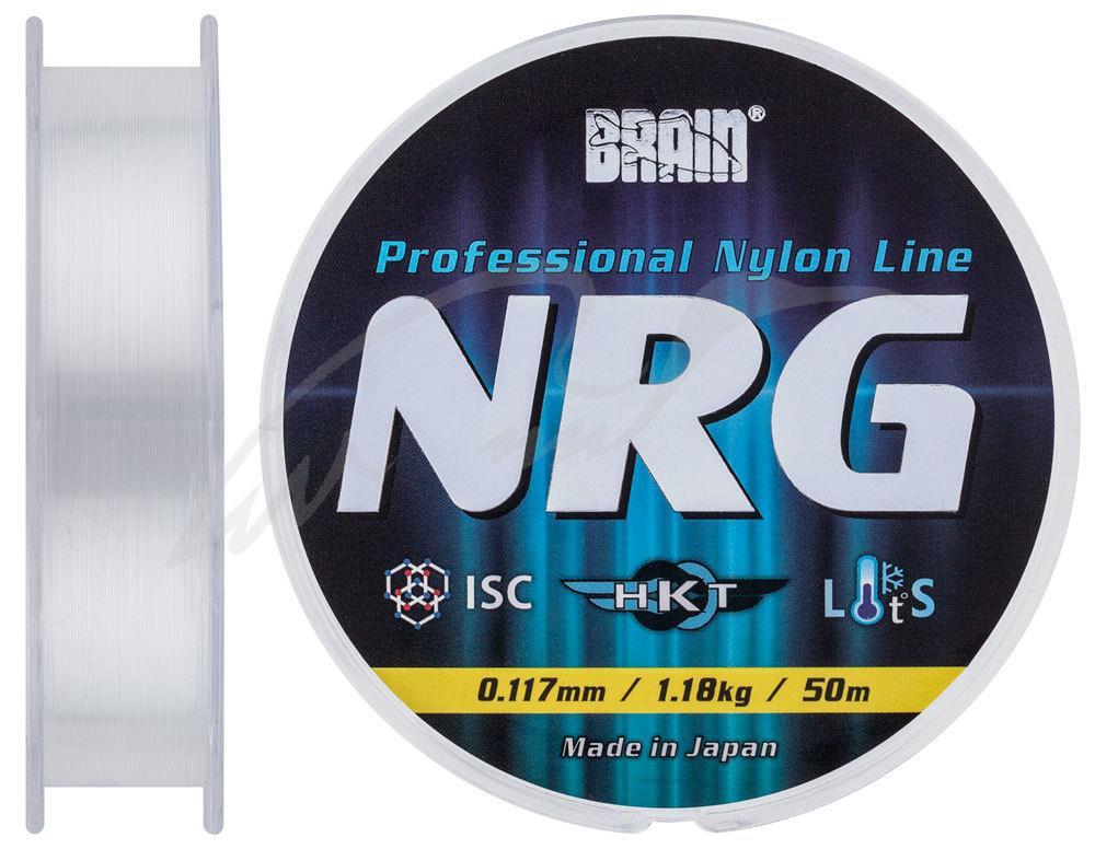 Леска Brain NRG 0,117 mm 1,18 kg (1858.70.34)