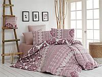 Качественный полуторный комплект постельного белья ТМ Nazenin Home, ранфорс SUENO-GÜL-KURUSU-2