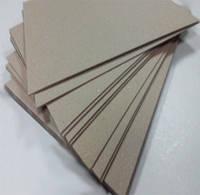 Картонаж (картон переплетный), бурый, толщина 1,5 мм