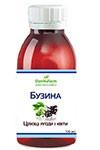 БАЖ «Бузина — цілющі ягоди і квіти» 100 мл - при простудних захворюваннях, ГРЗ, ГРВІ, грипі,ангіні, клімаксі