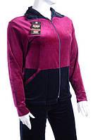 Велюровый женский спортивный костюм K120