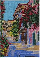 Схема для вышивки бисером Італійська вуличка