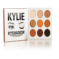 Тени для век Кайли Дженнер Kylie Jenner Kyshadow 9 цветов с зеркалом