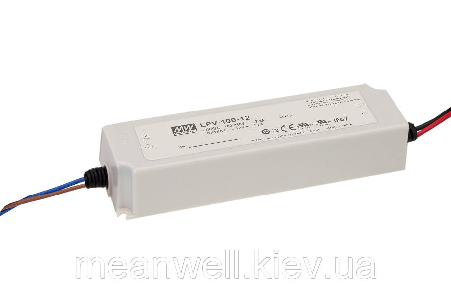 LPV-100-24 Блок питания Mean Well  Драйвер для светодиодов (LED) 100.8 Вт, 24 В, 4.2 А