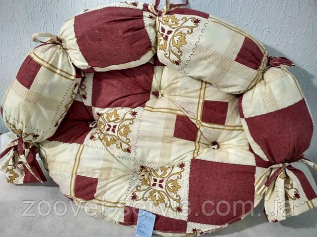 Лежак для котов и собак Collar Босс №1 Д 201 Теремок 65х55х28 см, фото 2