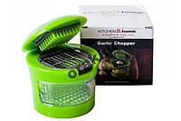 Универсальный прибор для нарезки чеснока - Kitchen Home Garlic Chopper