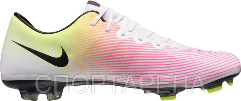 6d33df25 Детские футбольные бутсы Nike Jr Mercurial Vapor X FG 651620-107 -  СПОРТАРЕНА в Днепре