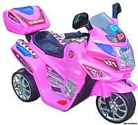 Детский мотоцикл для девочки на аккумуляторе M 0638
