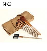 Кисти для макияжа NAKED3 7шт
