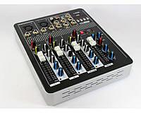 Аудио микшер Mixer BT4000 4ch.+BT музыкальный микшер