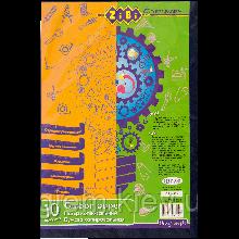 Папір копіювальний А4 10л синя