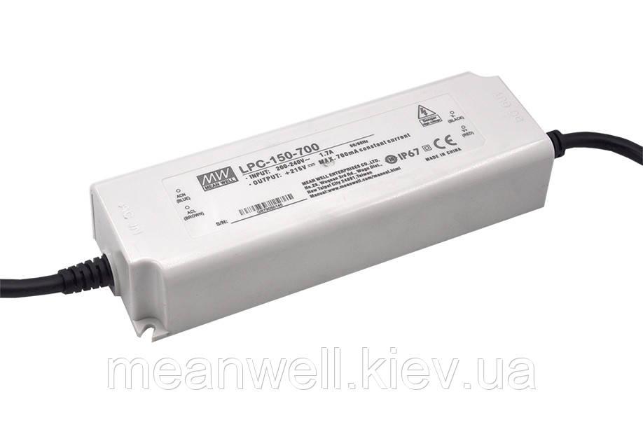 LPC-150-500 Блок питания Mean Well  Драйвер для светодиодов (LED) 150 Вт, 150~300 В, 500 мА