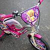 Детский велосипед  для девочки 16 дюймов от 4 до 7 лет