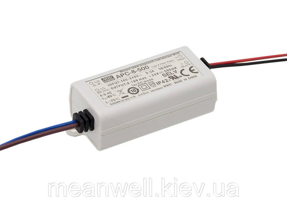 APC-8-700 Блок питания Mean Well  Драйвер для светодиодов (LED) 7.7 Вт, 6~11 В, 700 мА