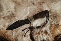 """Боевой нож ручной работы, нож-антитеррор """"Воин1"""", дамасск (наличие уточняйте)"""