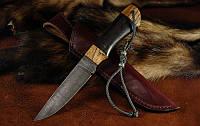 """Охотничий нож ручной работы """"Хантер2"""", дамасск (наличие уточняйте)"""