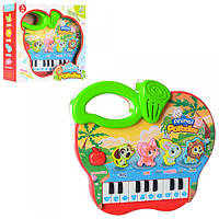 Пианино 2216A-37 обуч,2режима,муз,ноты,звук