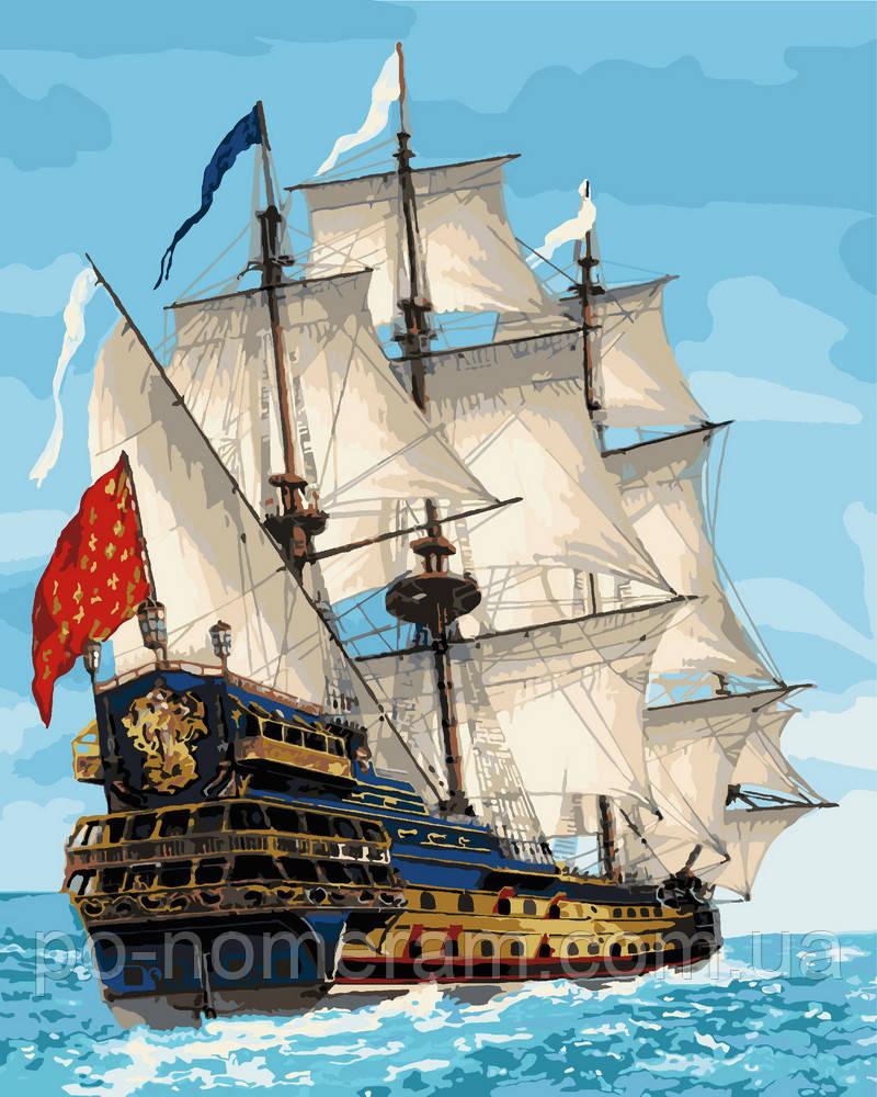Раскраска для взрослых Королевский флот (KHO2729) 40 х 50 ...