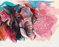 Раскраска для взрослых Индийская мудрость (KHO4046) 40 х 50 см Идейка [Без коробки]