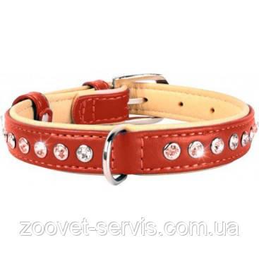 Кожаный ошейник для собак со стразами премиум классаCoLLaR brilliance, фото 2